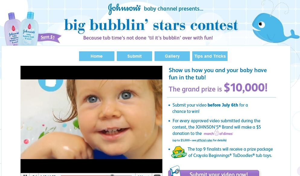 Concurso – Big Bubbling Stars – Contest