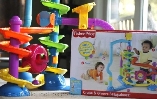 Fisher-Price Cruise & Groove Ballapalooza Giveaway #WatchItToWinIt Holiday Event