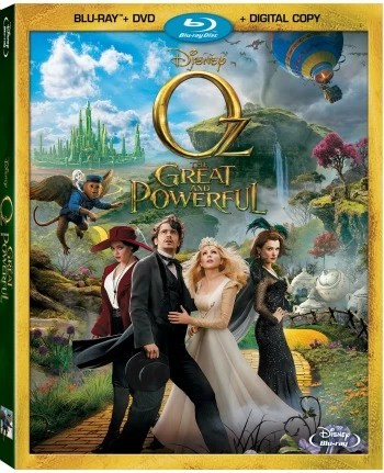 Disney's Oz The Great and Powerful Blu-ray Giveaway