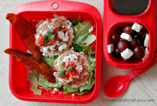 Mexican Molletes Bento Box