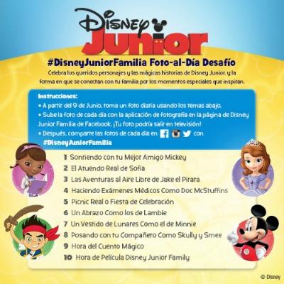 Desafío Fotográfico de #DisneyJuniorFamilia
