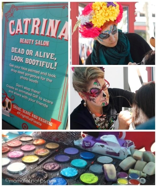Catrina Salon at #frightfulfiesta
