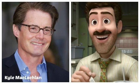 Kyle MacLachlan as Dad on Pixar's Inside-Out - mamalatinatips.com