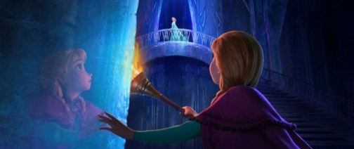"""FROZEN"" (Top to Bottom) ELSA and ANNA. ©2013 Disney. All Rights Reserved."