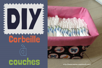 DIY corbeille à couches