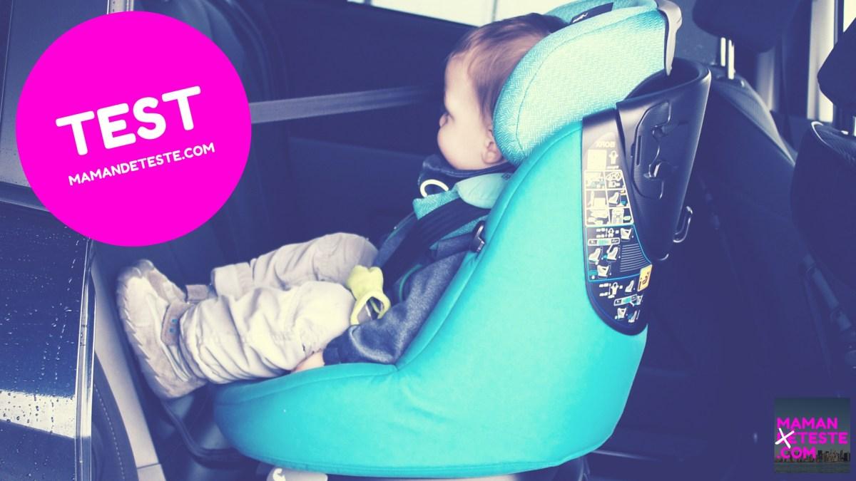 J'ai testé: Le siège auto pivotant AxissFix de Bébé Confort