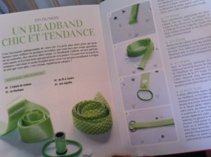 Le défi du mois : le HeadBand Chic !