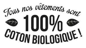 Bébé Tshirt propose des vêtements 100% coton bio