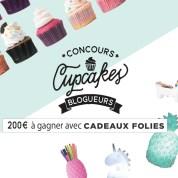Un super concours de cupcakes chez CadeauxFolies, tout le monde va gagner !