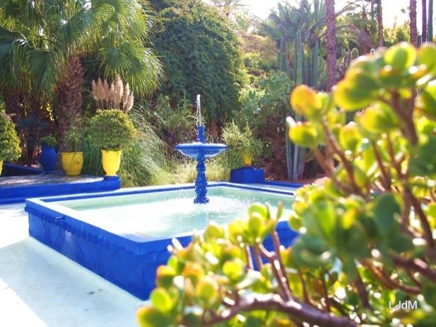 Le jardin majorelle marrakech maman voyage - Residence les jardins de majorelle marrakech ...