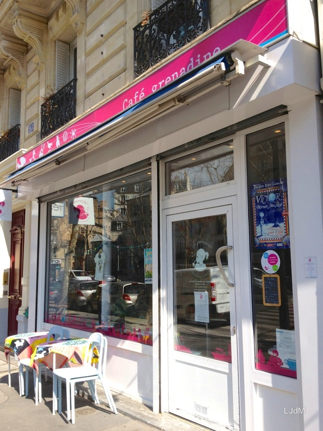 Le Café Grenadine : un café kid friendly à Paris