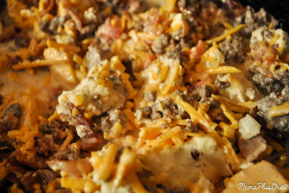 This easy cheeseburger dip is crock pot ready, so you can enjoy your ...