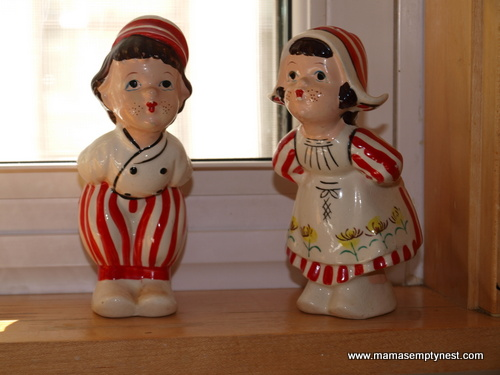 Grandma's Dutch Boy and Girl Salt and Pepper Shakers