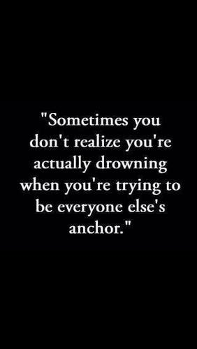 anchor and drowning