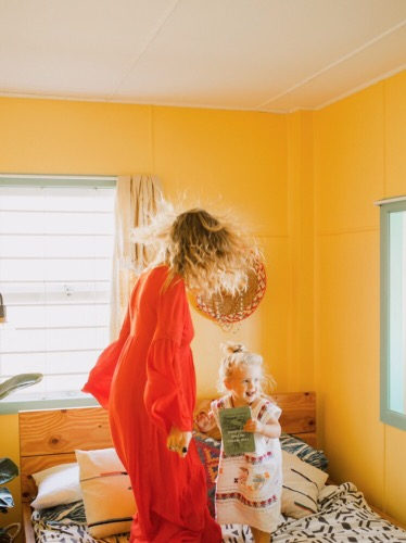 Two minutes with … Tess Guinery, mama to Peaches, aged 3 years