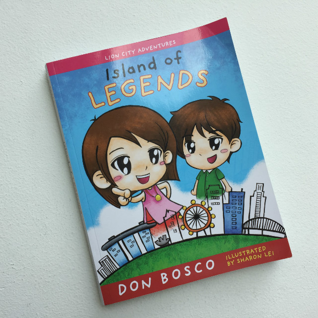 Island of Legends cover