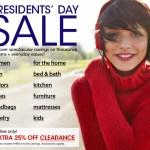 Ofertas del Día de los Presidentes en Macy's más código de descuento Extra!