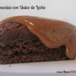 Receta: Brownie con Dulce de Leche