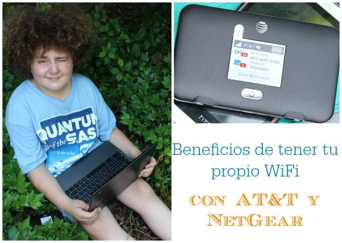 beneficios de tener tu propio wifi con at&t and netgear