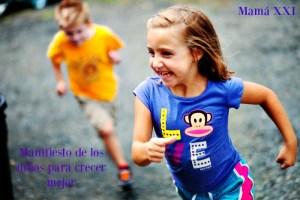 Manifiesto de los niños para crecer mejor