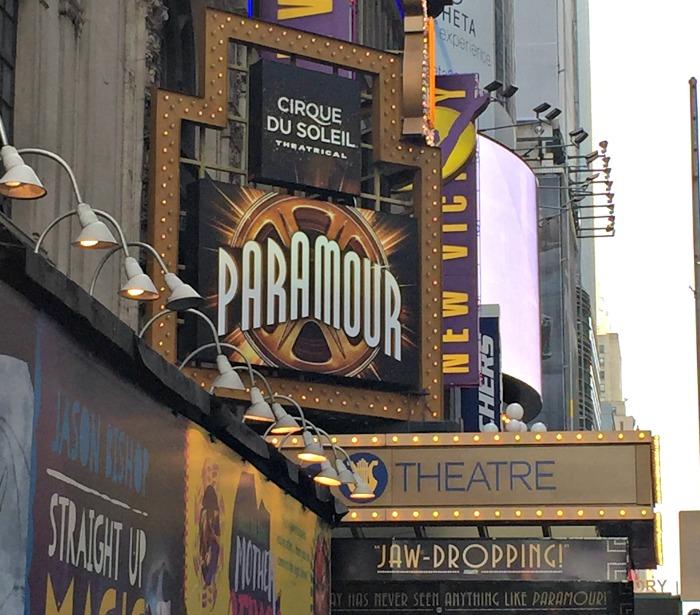 paramour, circo del sol, show, musical, teatro, lyrics