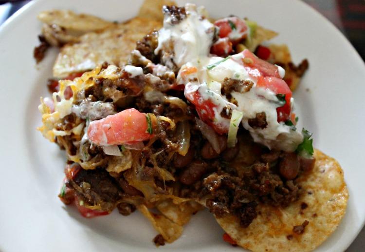 nachos mexicanos, tortillas, receta
