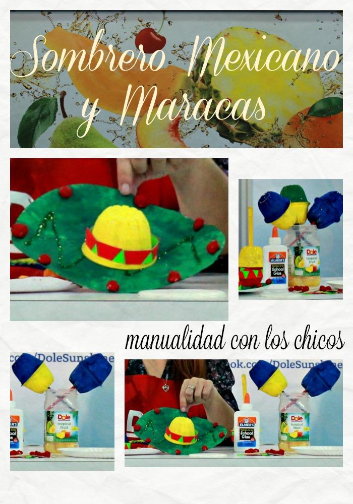 manualidad, sombrero mexicano, maracas, familia, romina tibytt, mamá xxi