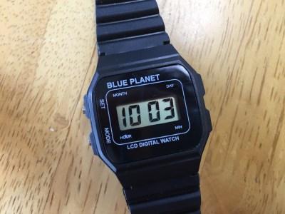 ダイソー腕時計100円小学生の外遊びに大活躍。時間も正確優れもの