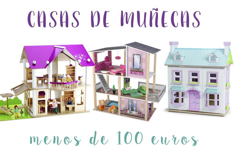 15 casas de muñecas de madera de menos de 100€