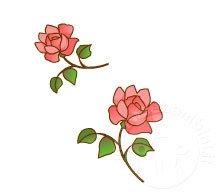 Disegno rosa da colorare in festa d mamma disegni da colorare 2