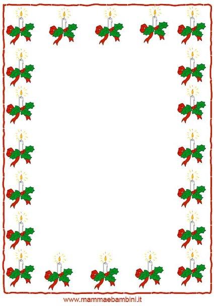 Cornicette di Natale in natale