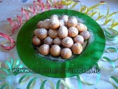 Foto e ricetta delle castagnole