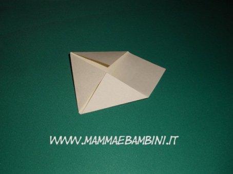 Stella di Natale, origami in natale