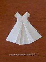 Abito origami (seconda parte)