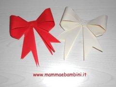 Fiocco di carta con origami (II parte)