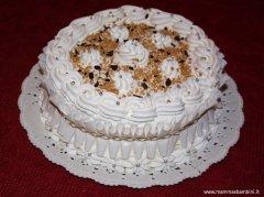 Foto torta con panna