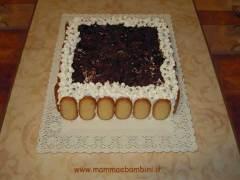 Decorazione torta millefoglie