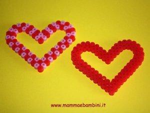 Cuore per la mamma con le perline Hama