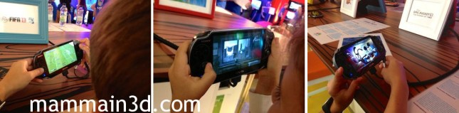PlayFest 2013: PS Vita (FIFA 13 - Flower - Epic Mickey 2)