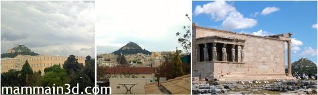 Atene: Monte Licabetto