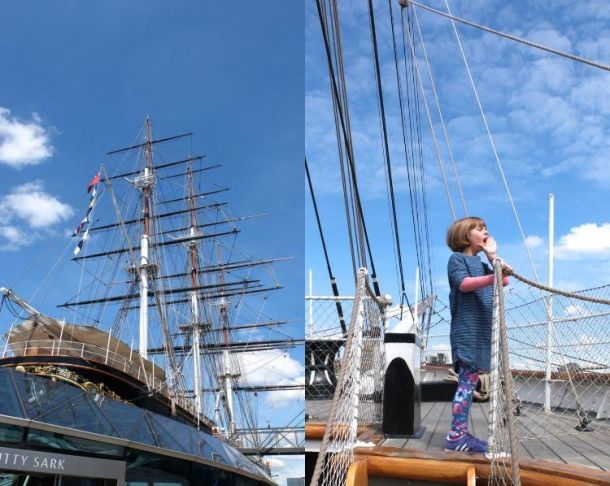 Cutty-Sark-Daughter Greenwich For Kids:Top 5 Places Kids Will Love