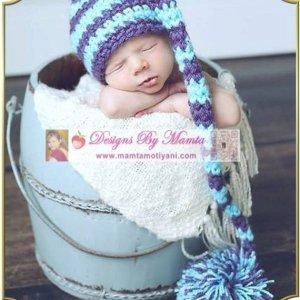 Crochet Elf Hat