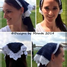 Mumtaz Crochet Head Scarf Pattern