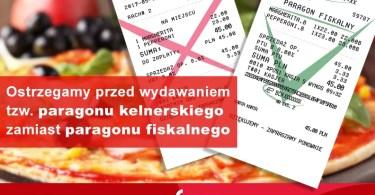 ostrzeżenie dla właścicieli restauracji