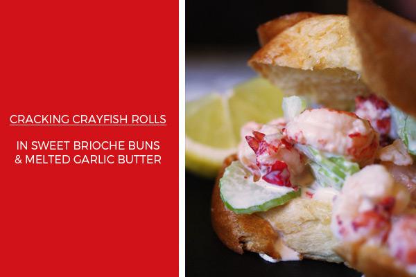 Crayfish rolls recipe