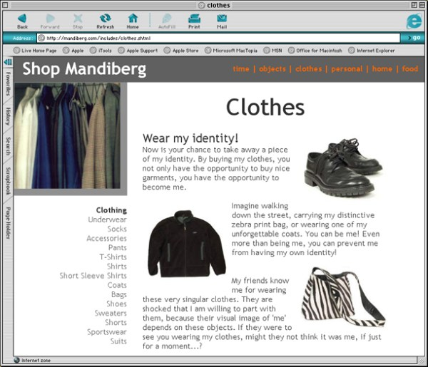 Shop Mandiberg