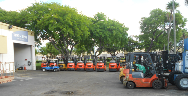 Forklifts Contact