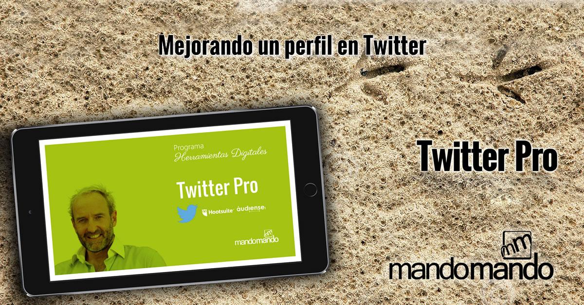 Mejorando un perfil en Twitter