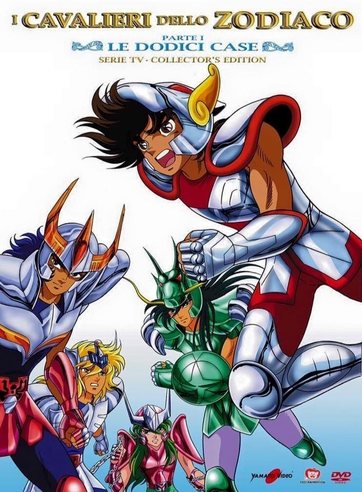 Saint Seiya serie TV di nuovo in dvd Ita.