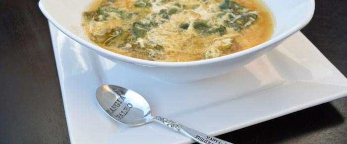 Paleo Stracciatella (Italian Egg Drop Soup)